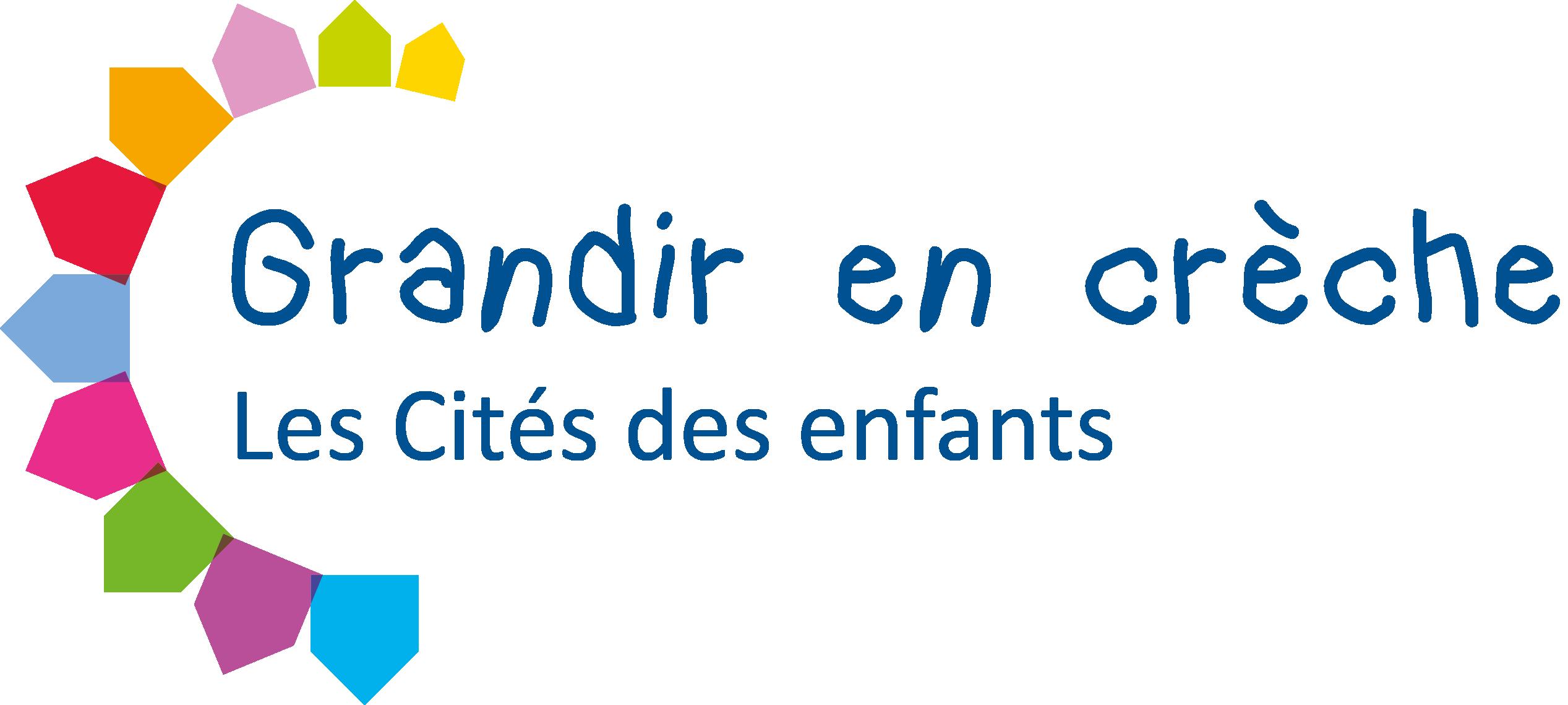 Logo Grandir en crèche